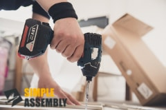 furniture assembly in Hoxton