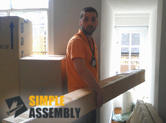 Professional Furniture Delivery by Simple Assembly's Team